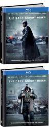 The Dark Knight Rises - TARGET Exclusive DigiBook / Batman vs. Bane Lenticular Cover (Blu-ray + DVD)