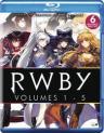 RWBY: Volumes 1-5 (6 Disc Set)